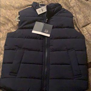 Gap Navy Puff Vest
